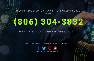 "How to Troubleshoot Avast ""UI failed to load"" Error"