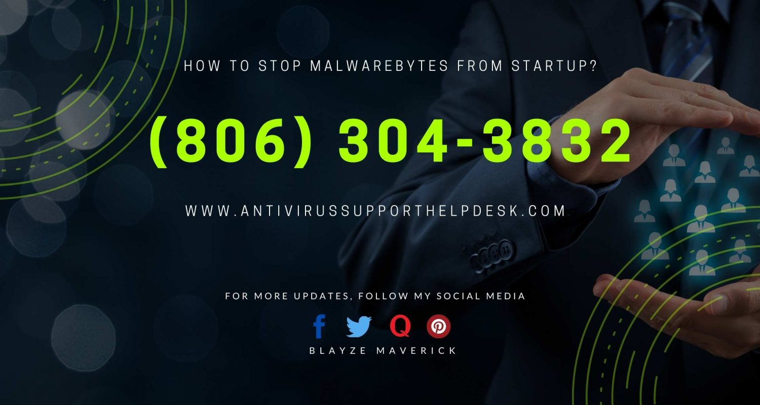 How to stop Malwarebytes From Startup