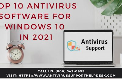 Top 10 Antivirus Software for Windows 10 in 2021