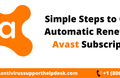 How to Cancel Automatic Renewal of the Avast Subscription?