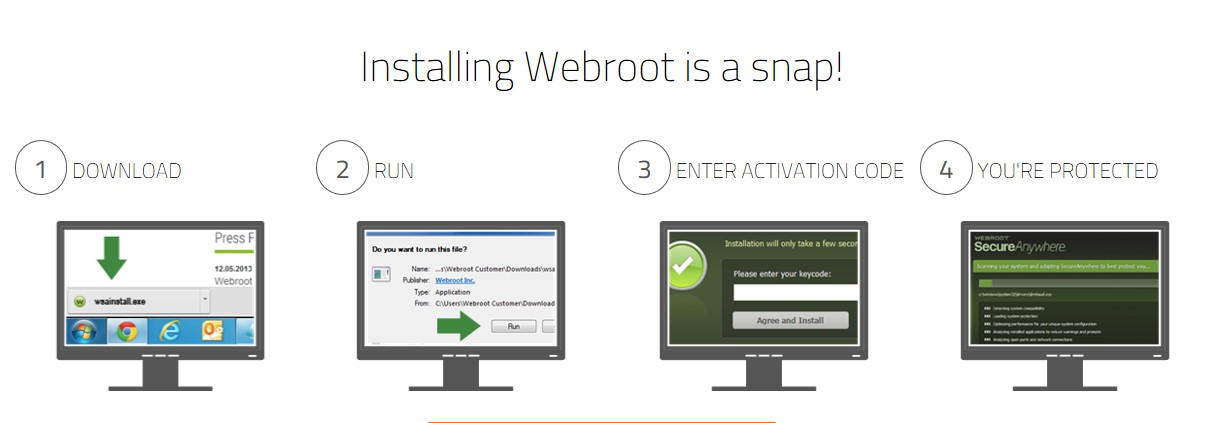 Installation Guide for Webroot Antivirus
